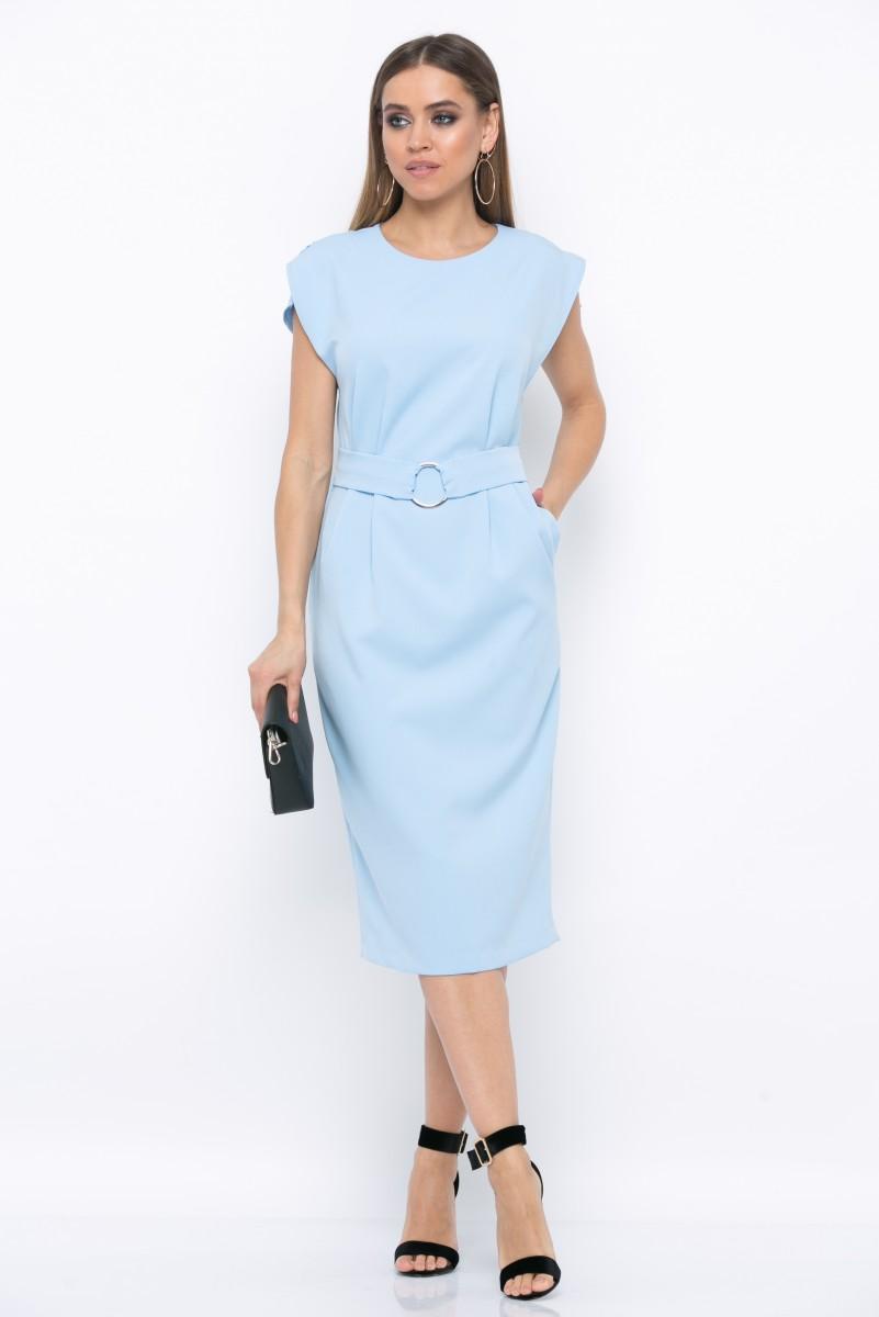 Платье V210 цвет голубой