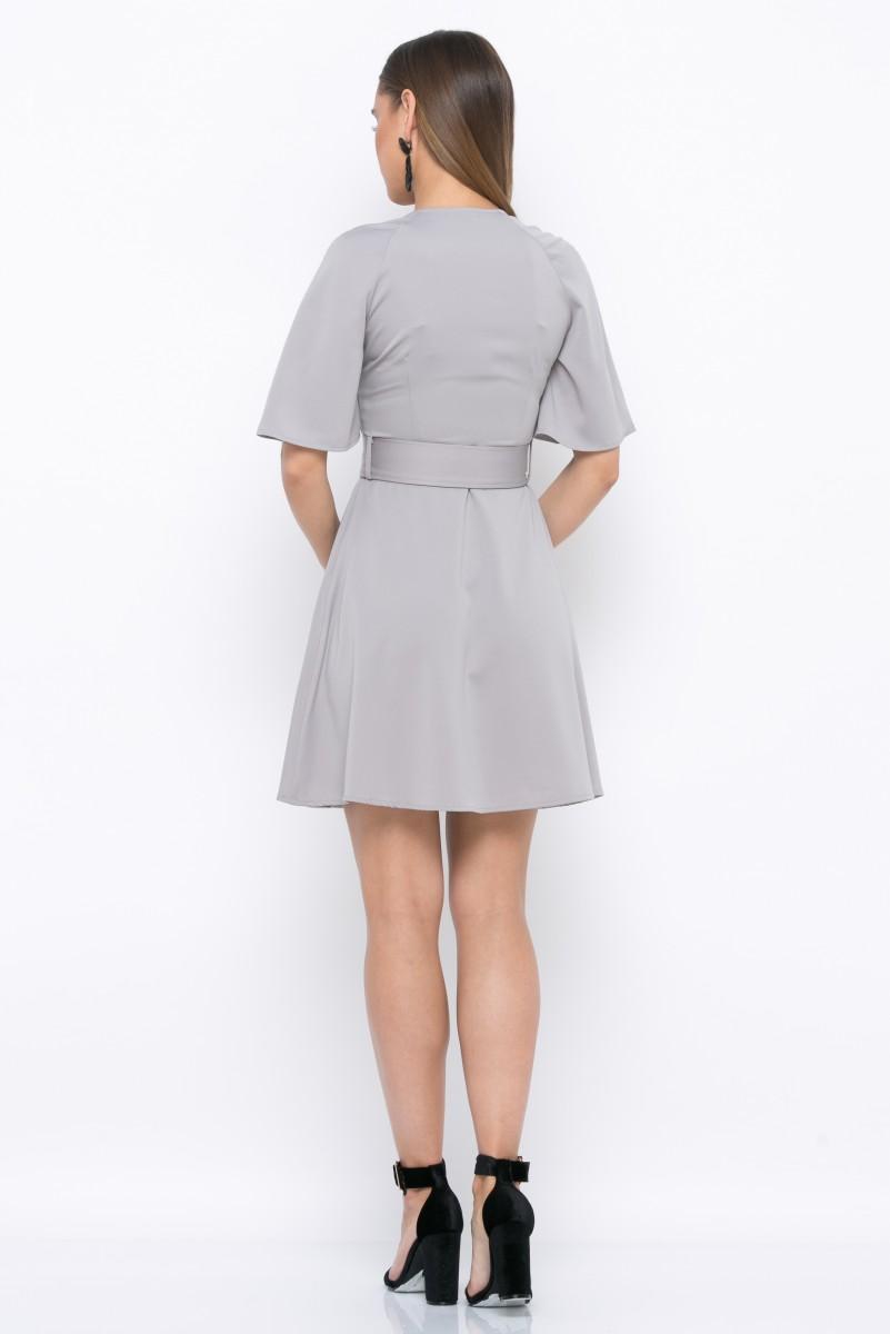 Платье V215 цвет св.серый