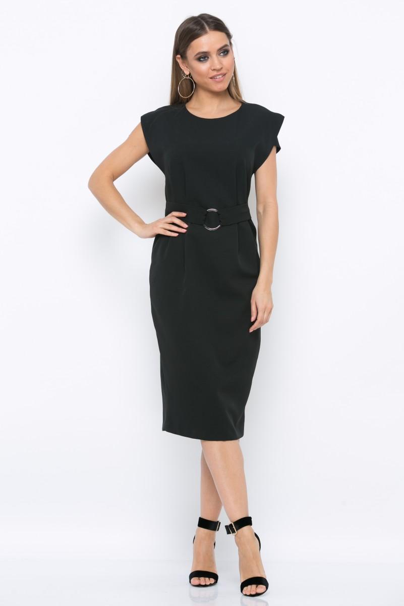 Платье V210 цвет черный
