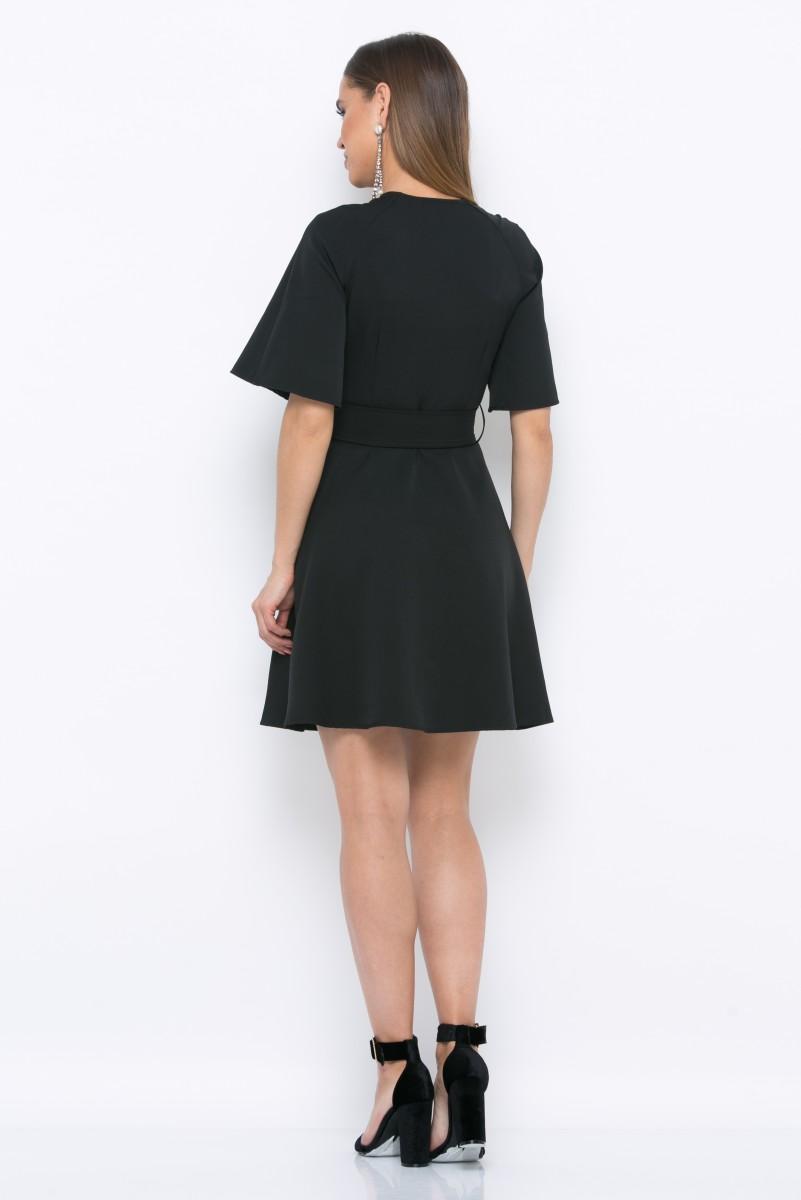 Платье V215 цвет черный
