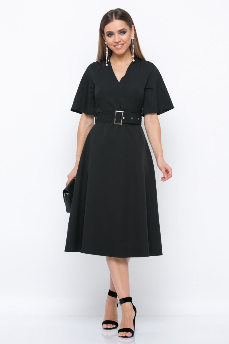 платье V213 цвет черный