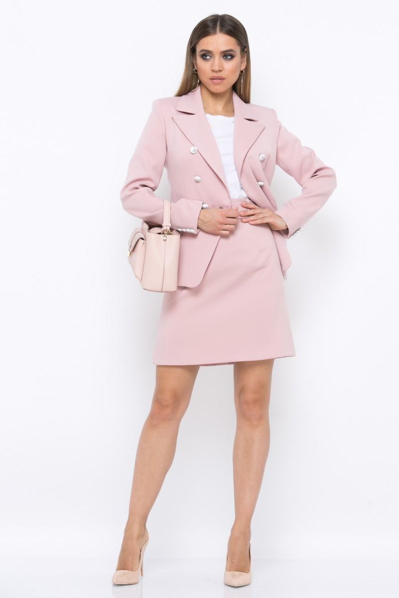 Юбка V217 цвет розовый