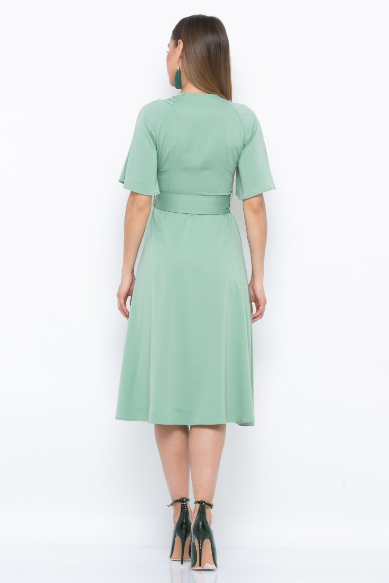 Платье V213 цвет фисташковый