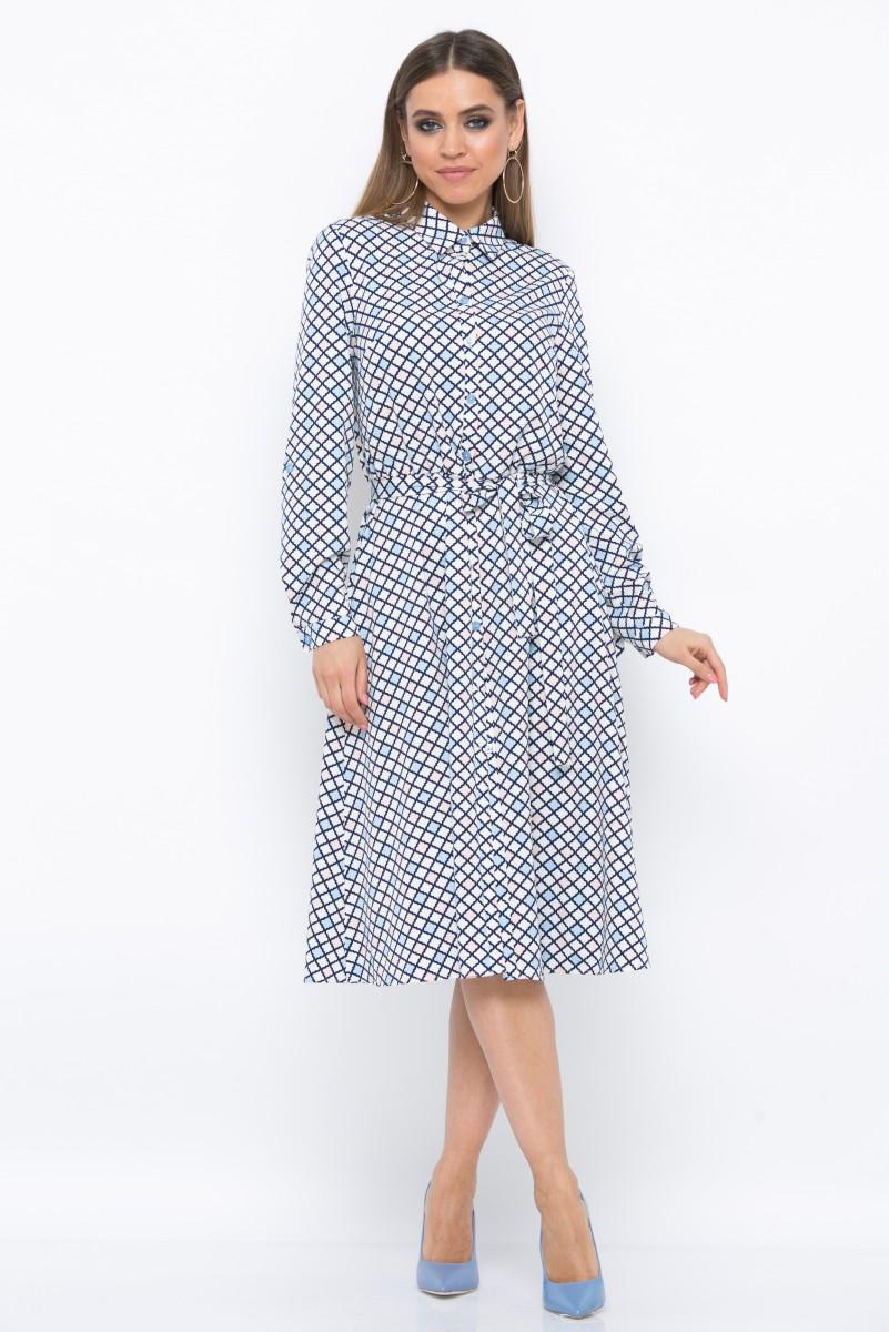 Платье V219 цвет мультиколор