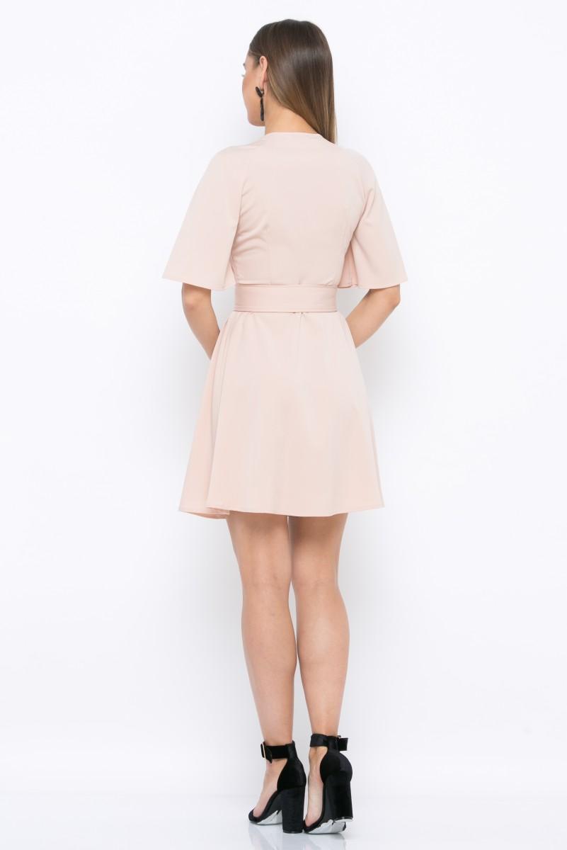 Платье V215 цвет бежевый