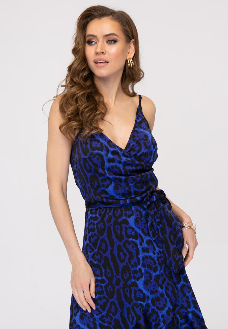 Сарафан L392 цвет синий