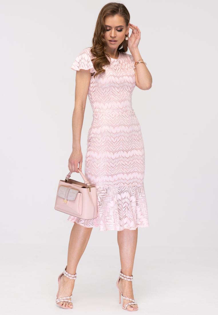 Платье L390 цвет розовый
