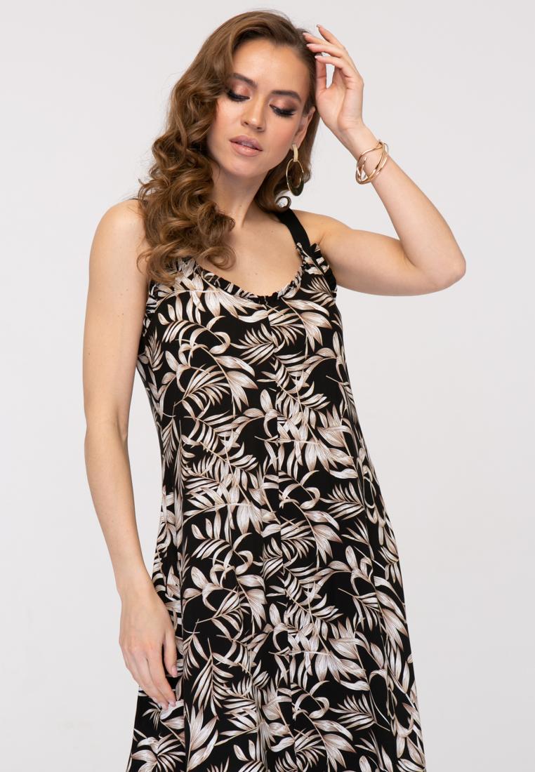 Платье L388 цвет черный