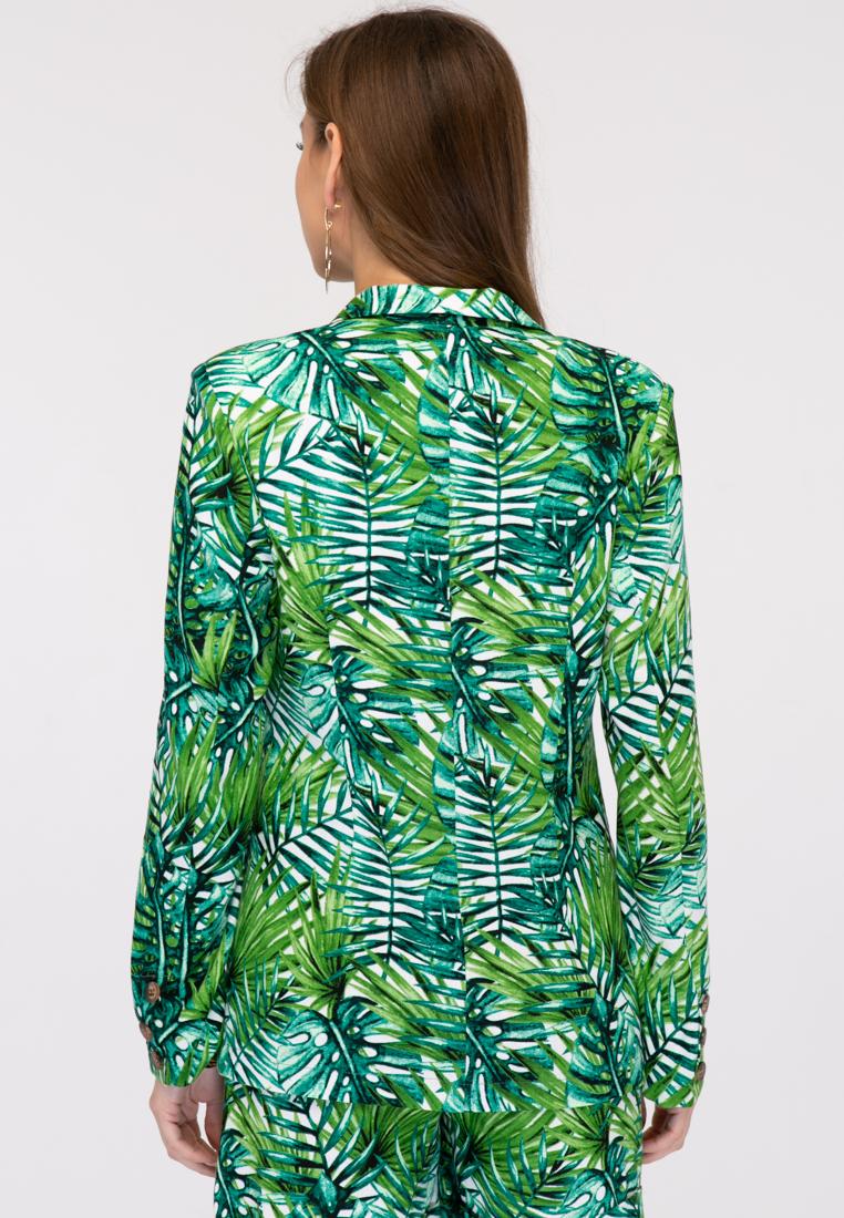 Жакет L381 цвет зеленый