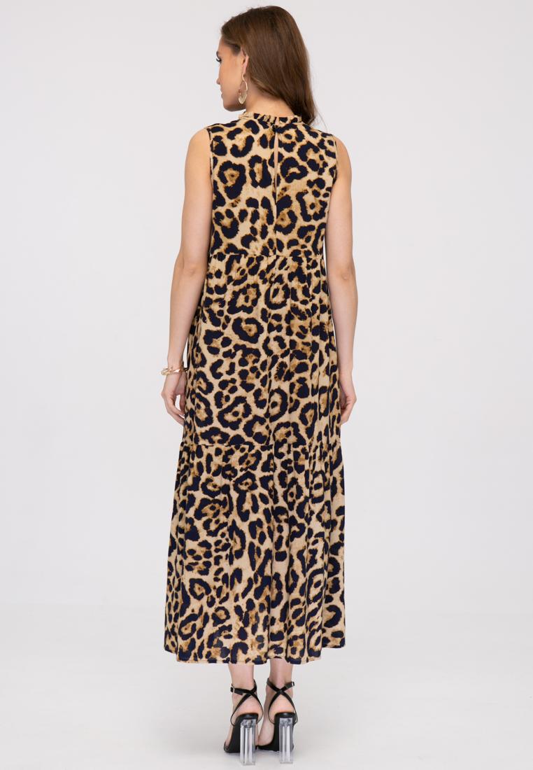 Платье L389 цвет бежевый