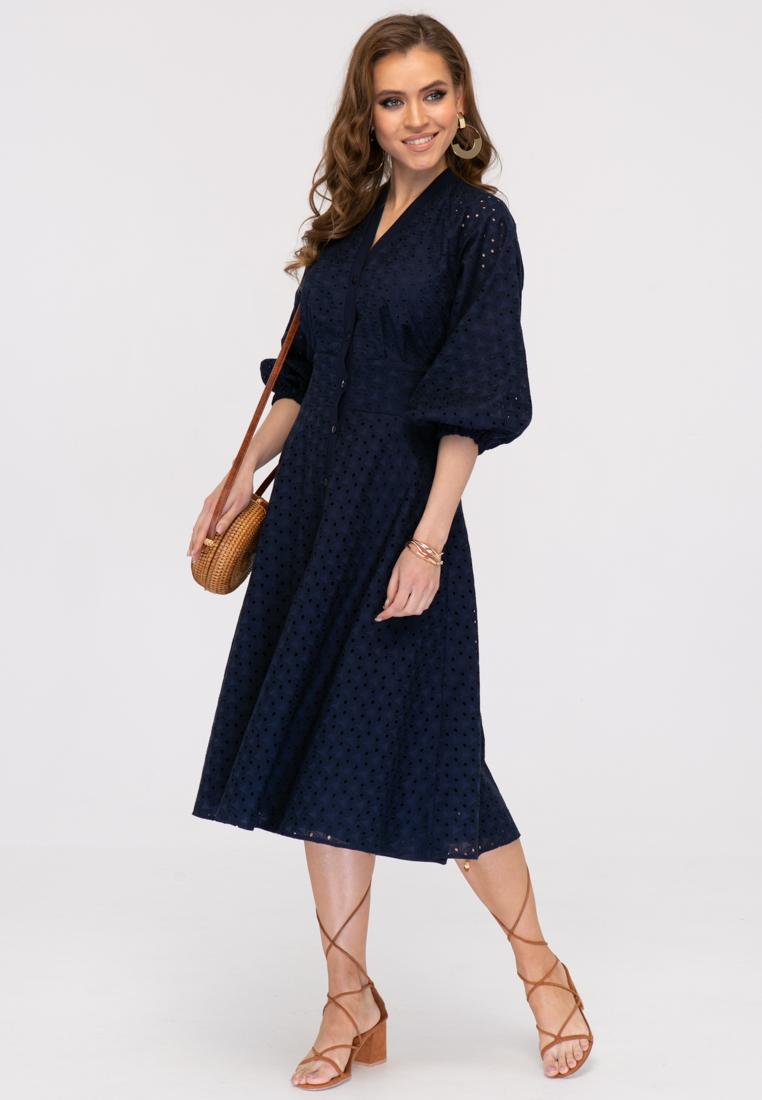 Платье L386 цвет синий