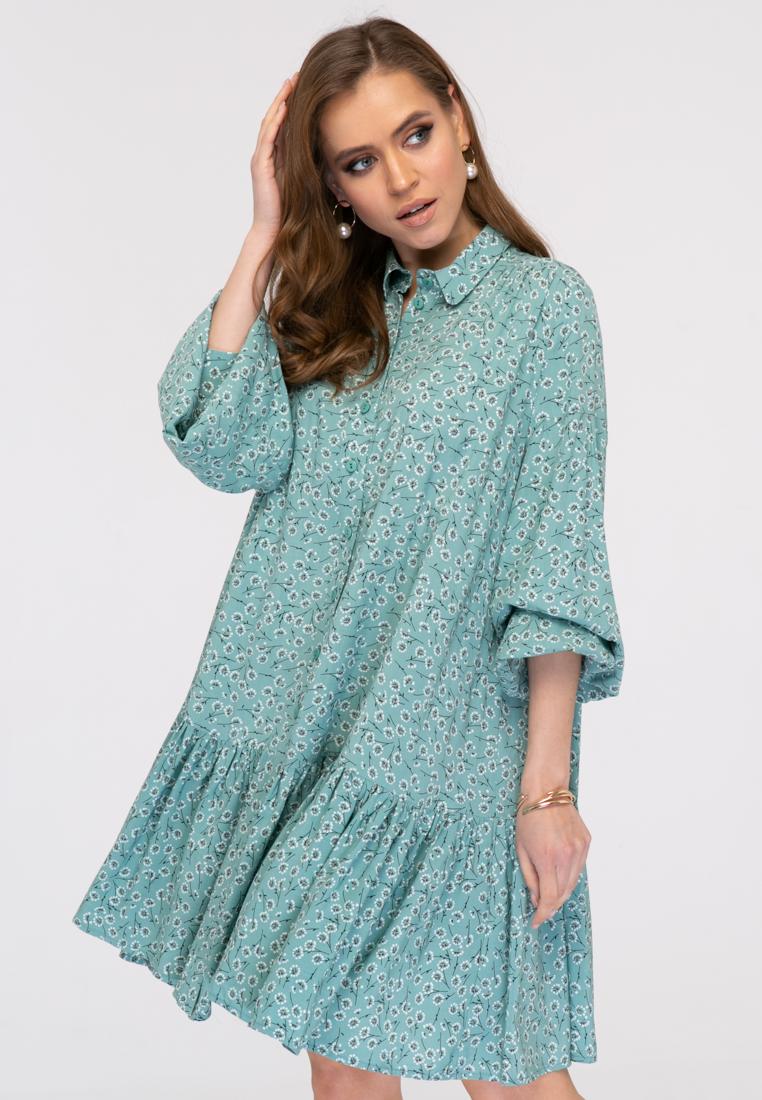 Платье L385 цвет зеленый