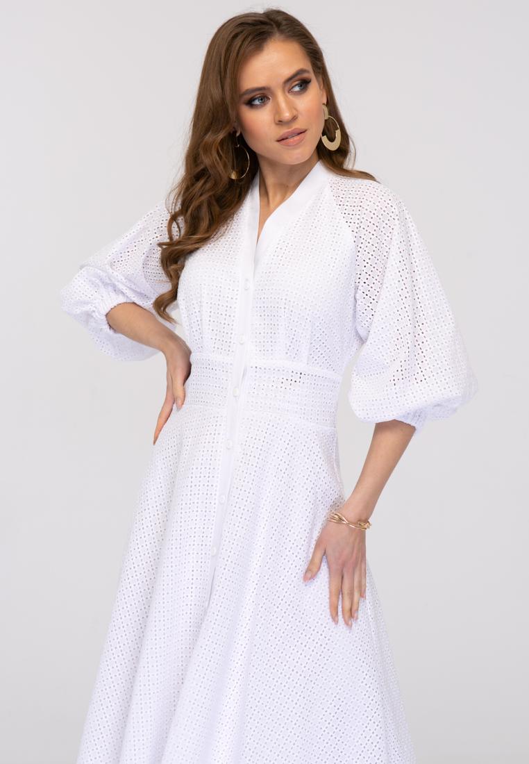 Платье L386 цвет белый