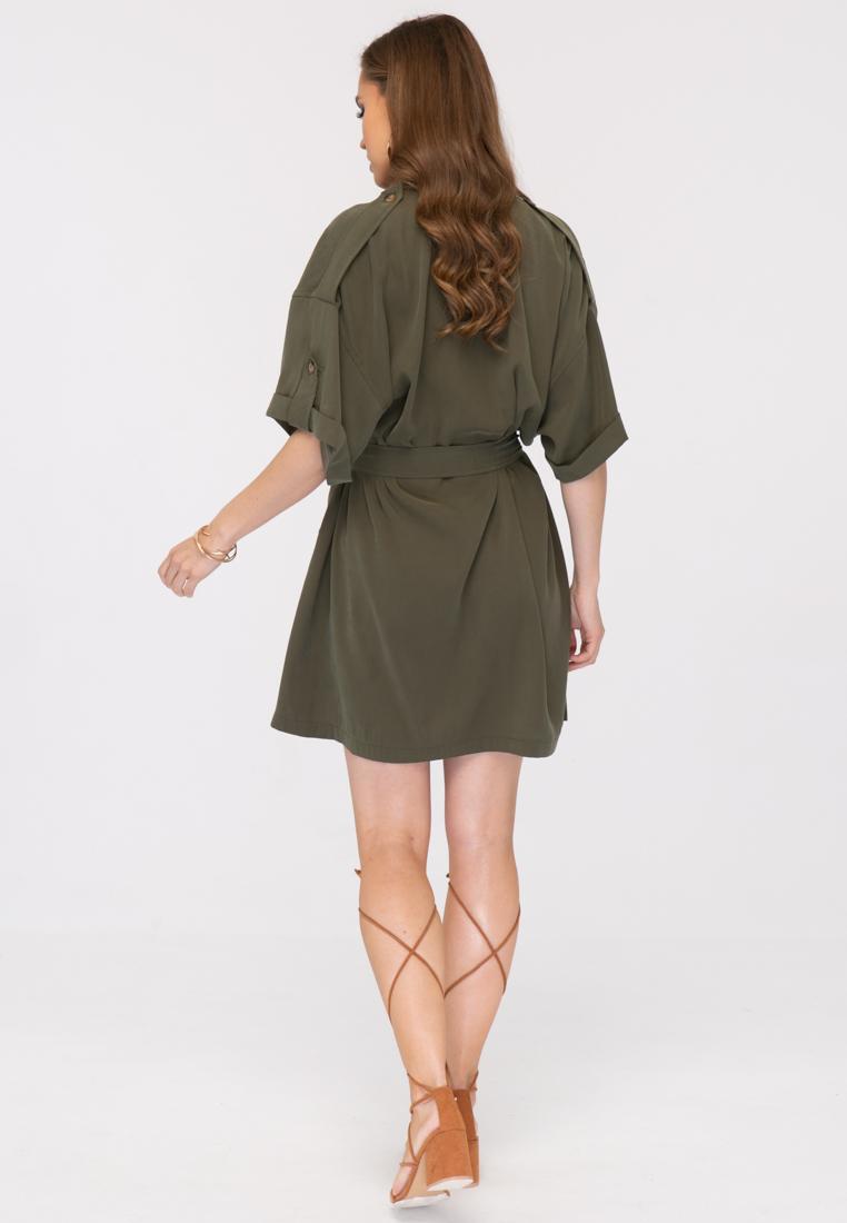 Платье L394 цвет хаки