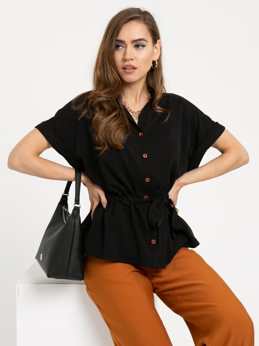 Блузка L445 цвет: черный