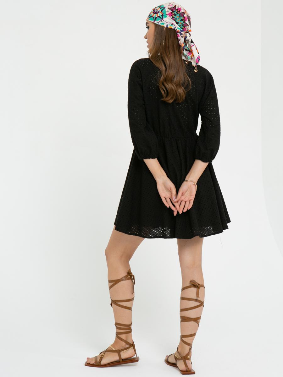 Платье L455 цвет: черный