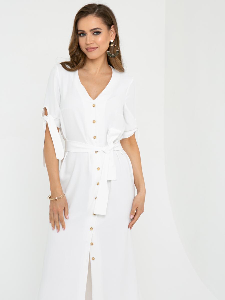 Платье L442 цвет: белый