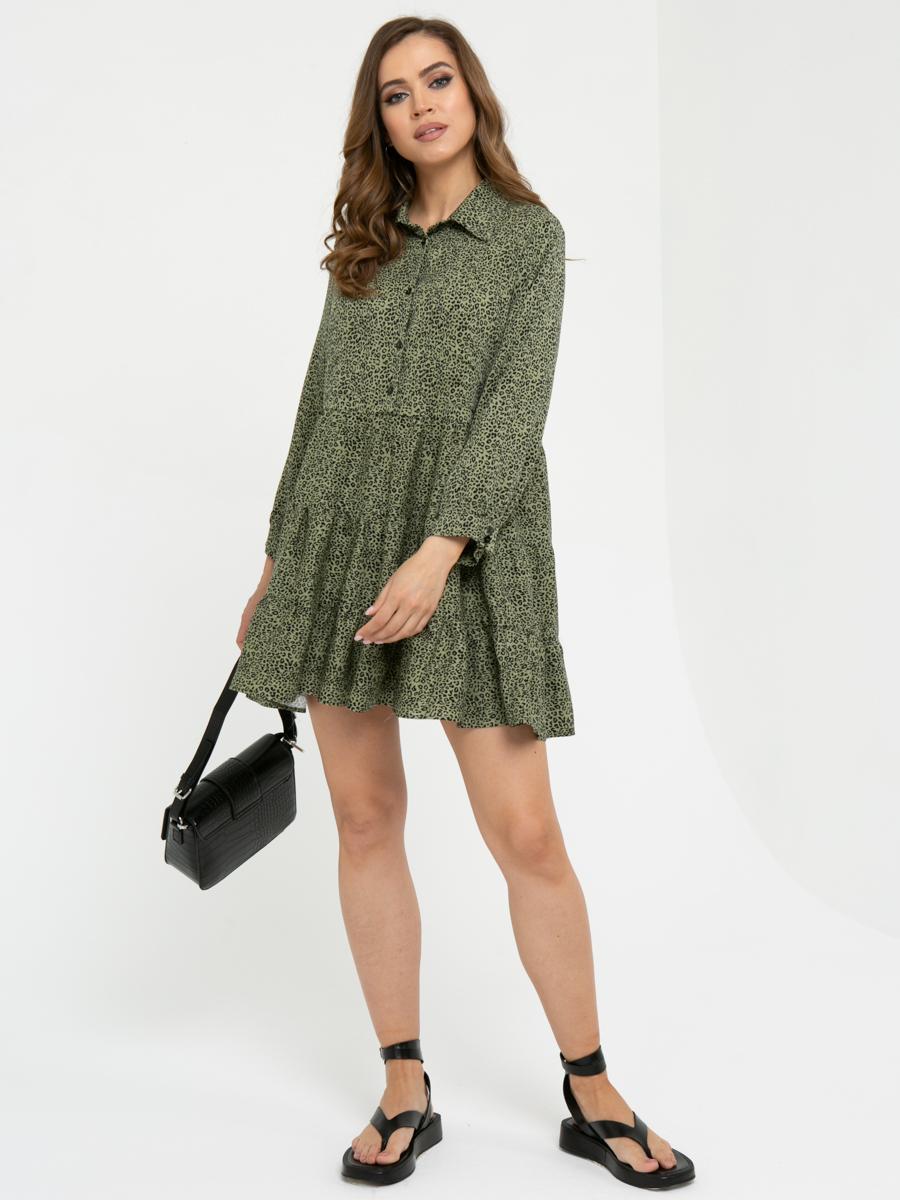 Платье L448 цвет: хаки