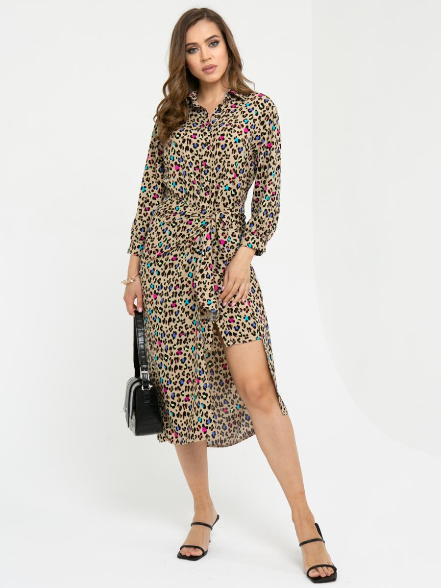 Платье L449 цвет: мультиколор