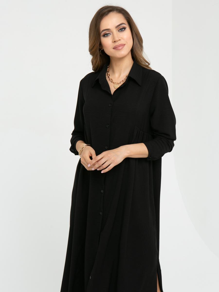 Платье L447 цвет: черный