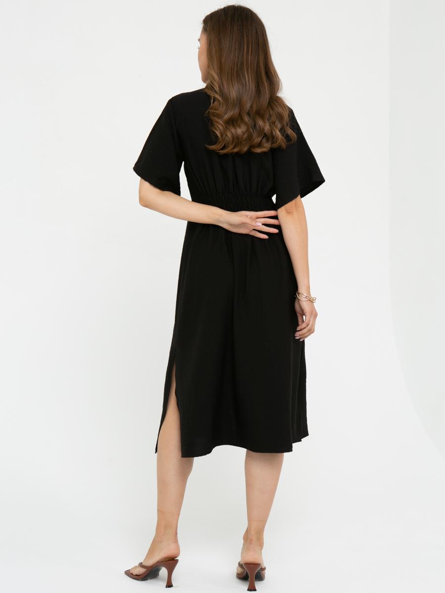 Платье L443 цвет: черный