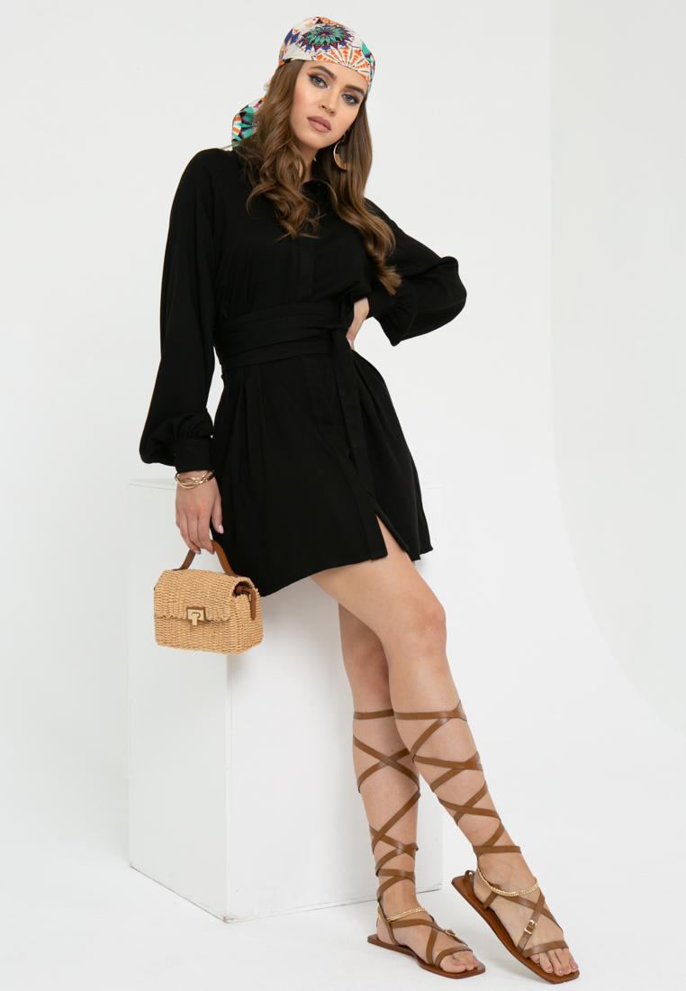 Платье L444 цвет: черный