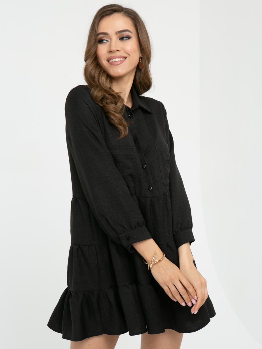 Платье L448 цвет: черный