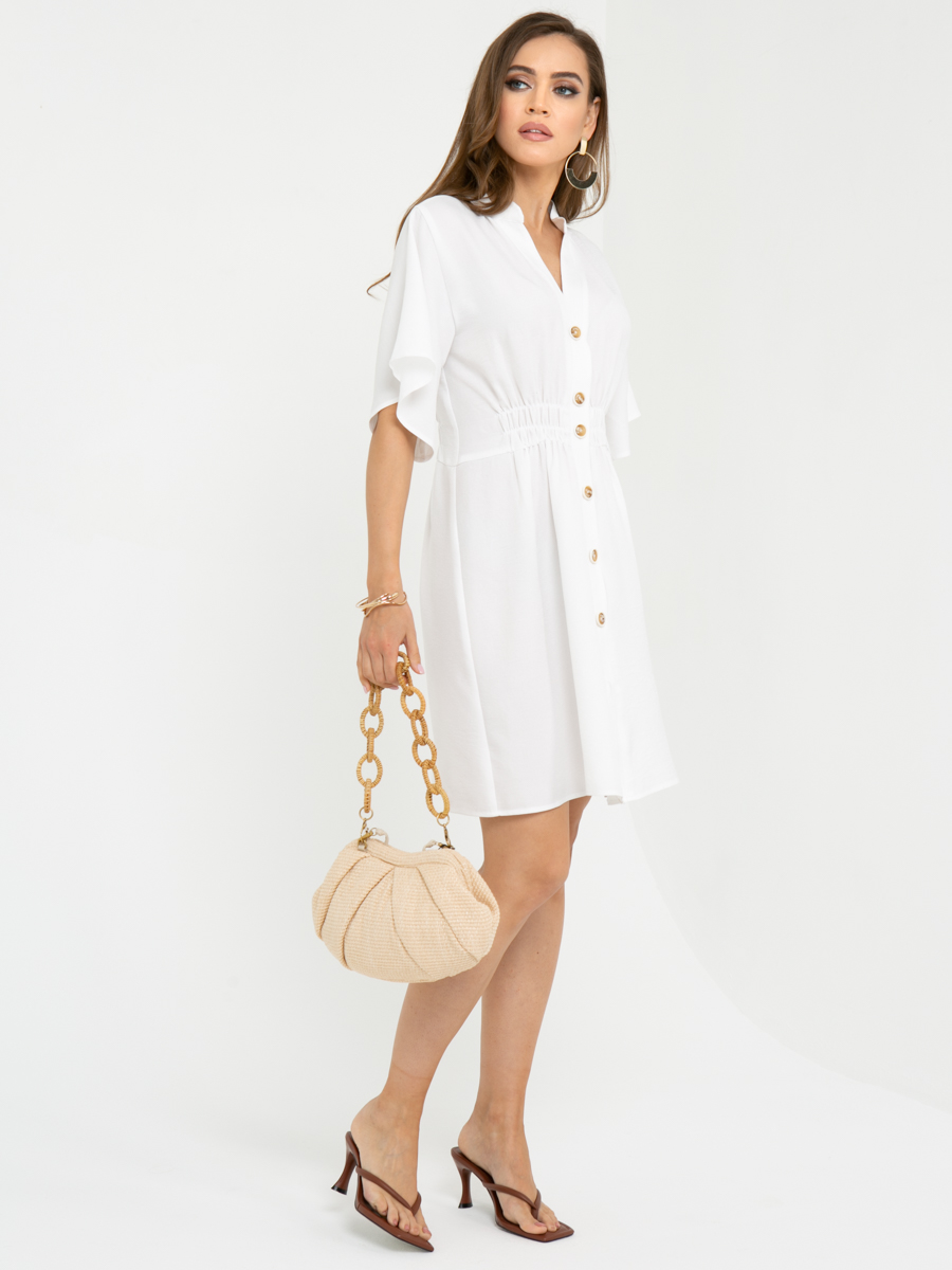 Платье L452 цвет: белый