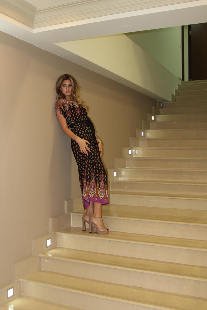 P022 Платье в пол