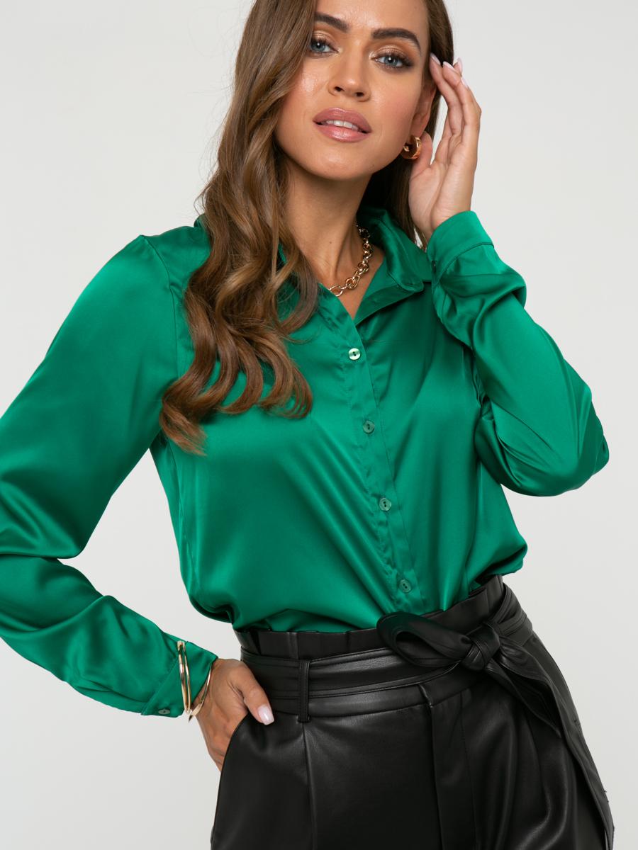 Блузка A463 цвет: зеленый