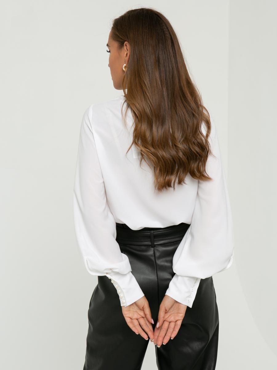 Блузка Z334 цвет: молочный
