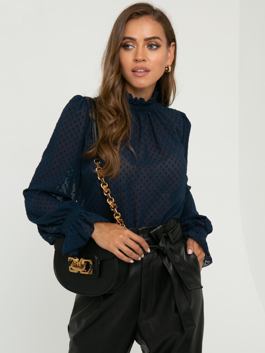 Блузка Z261 цвет: синий