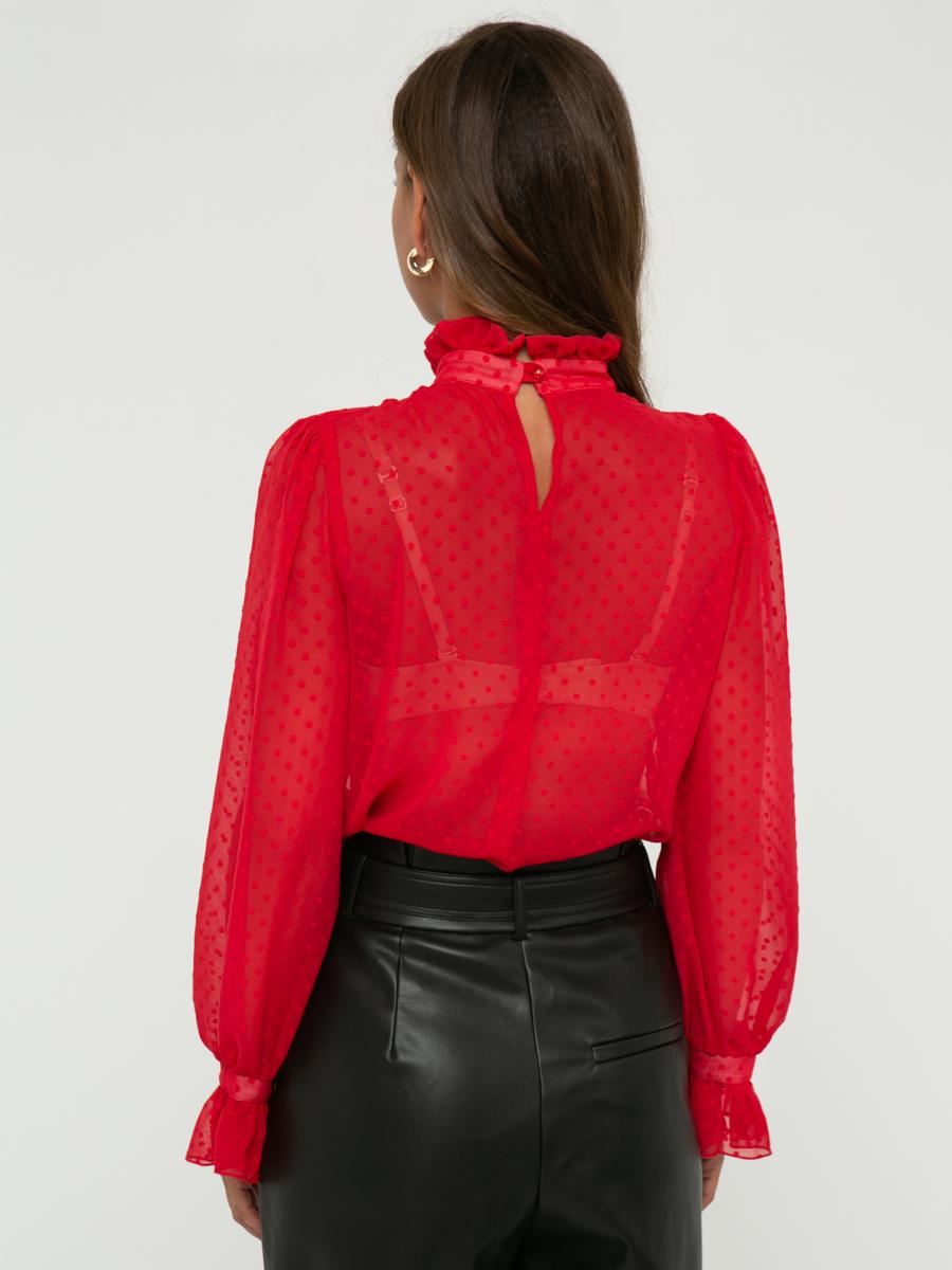 Блузка Z261 цвет: коралловый