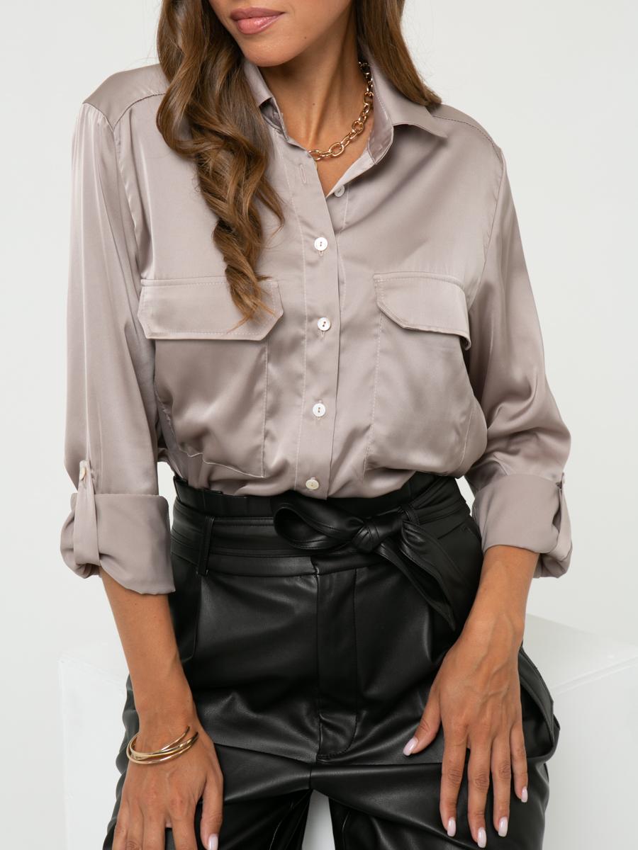Блузка A457 цвет: капучино