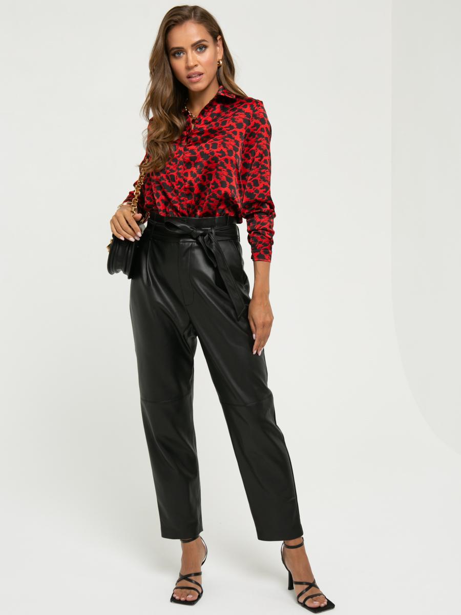 Блузка A419 цвет: красный