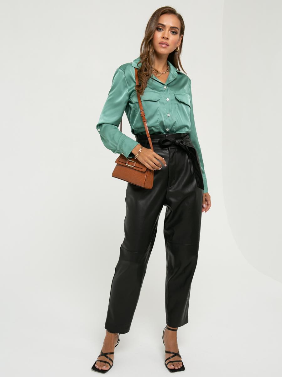Блузка A457 цвет: оливковый