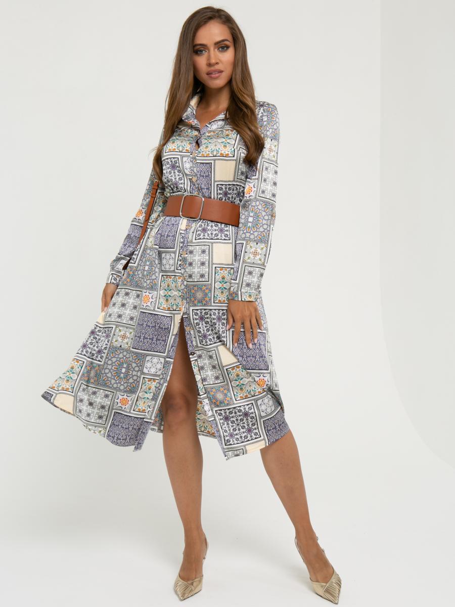 Платье A456 цвет: мультиколор