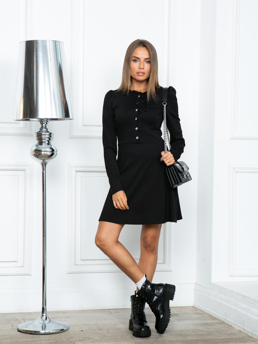Платье A309 цвет черный