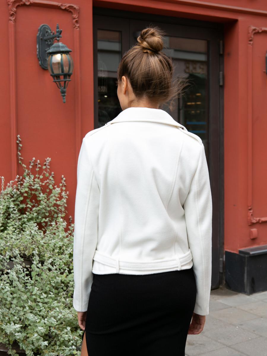 Куртка A329 цвет молочный
