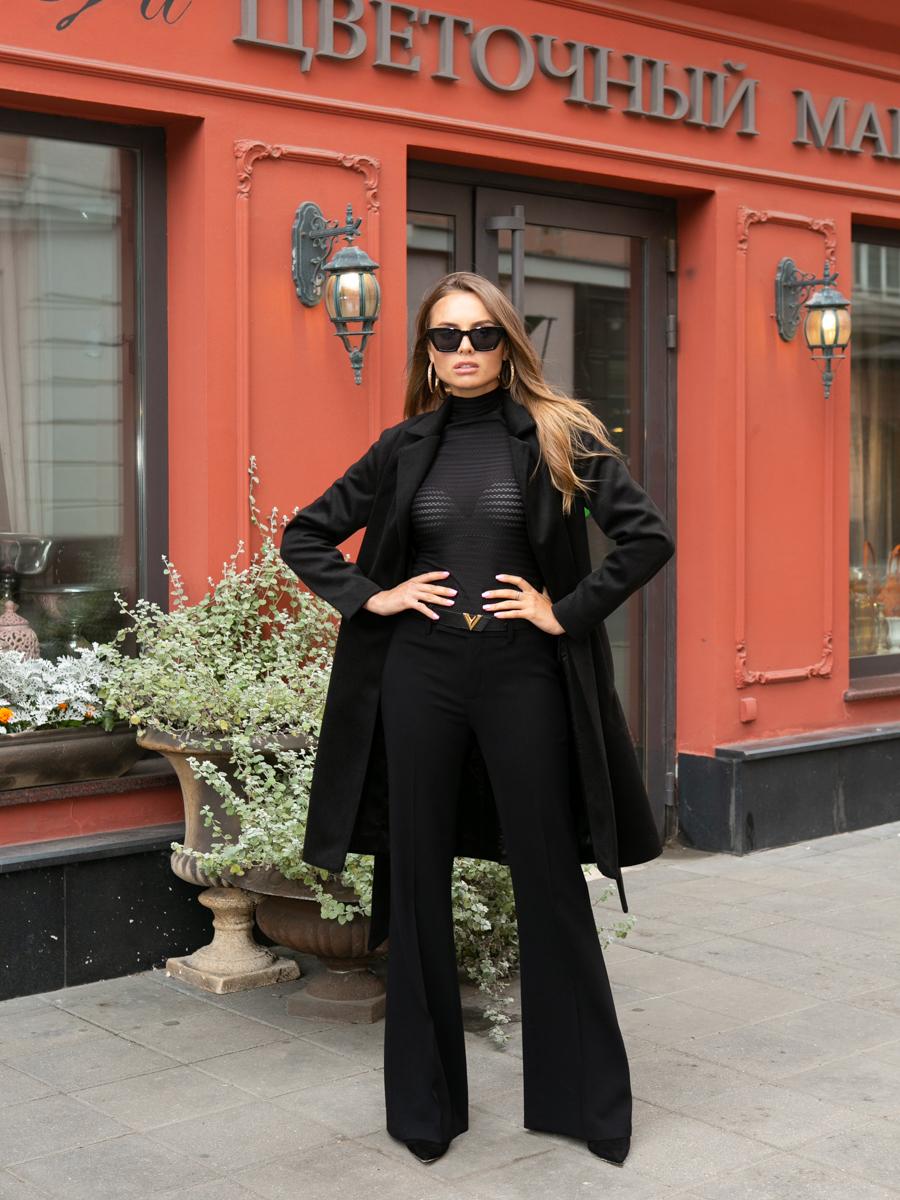 Пальто A315 цвет черный