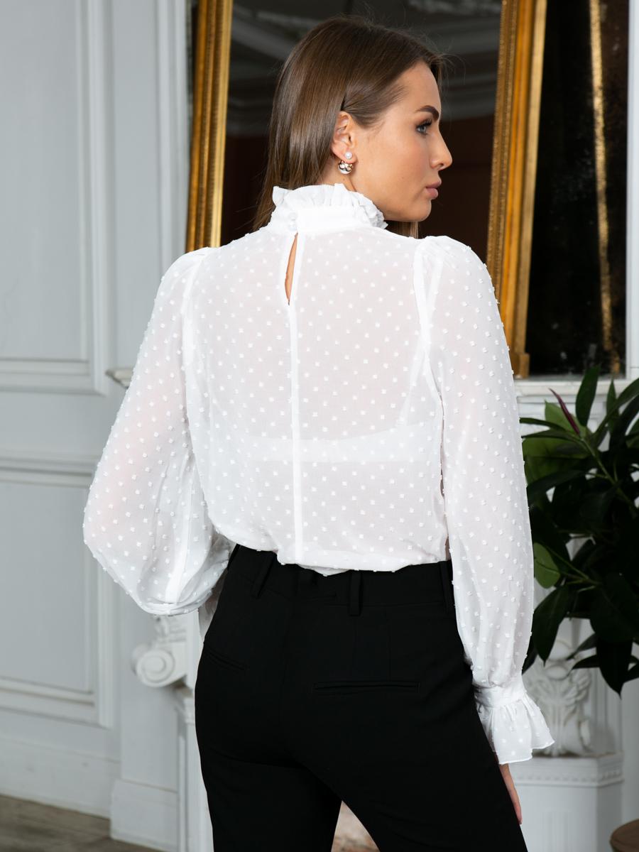 Блузка A302 цвет молочный