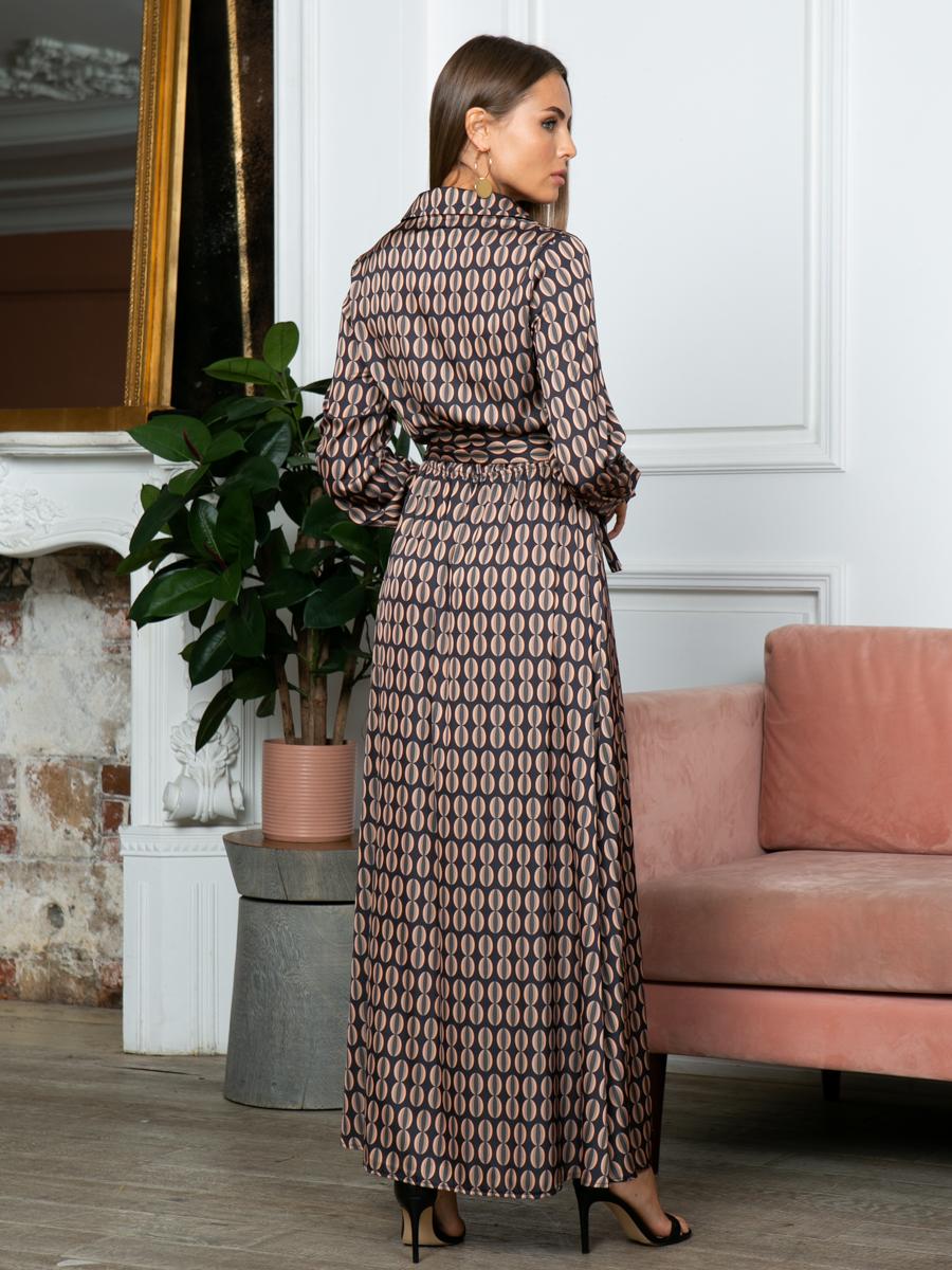 Платье A314 цвет капучино