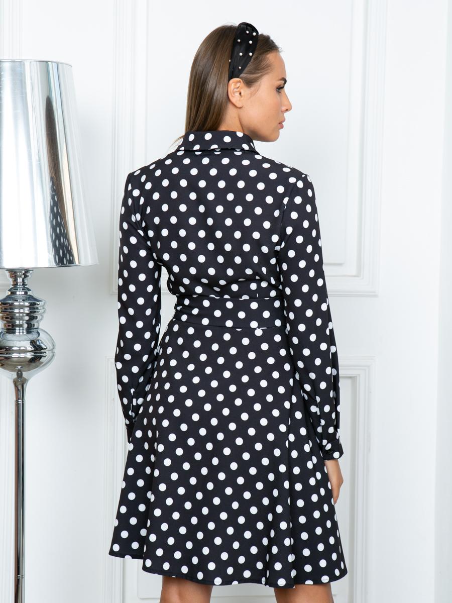 Платье A316 цвет черный