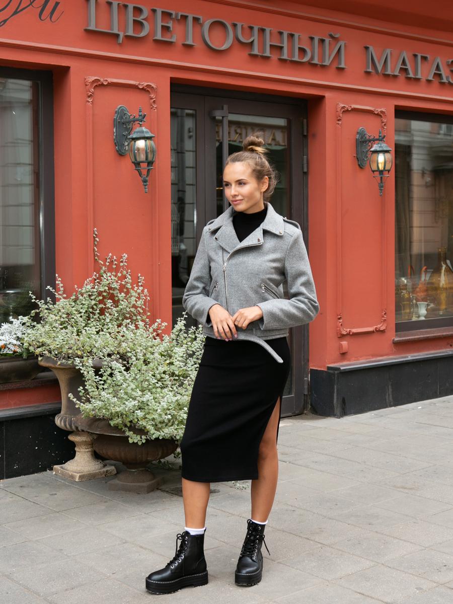 Куртка A329 цвет серый