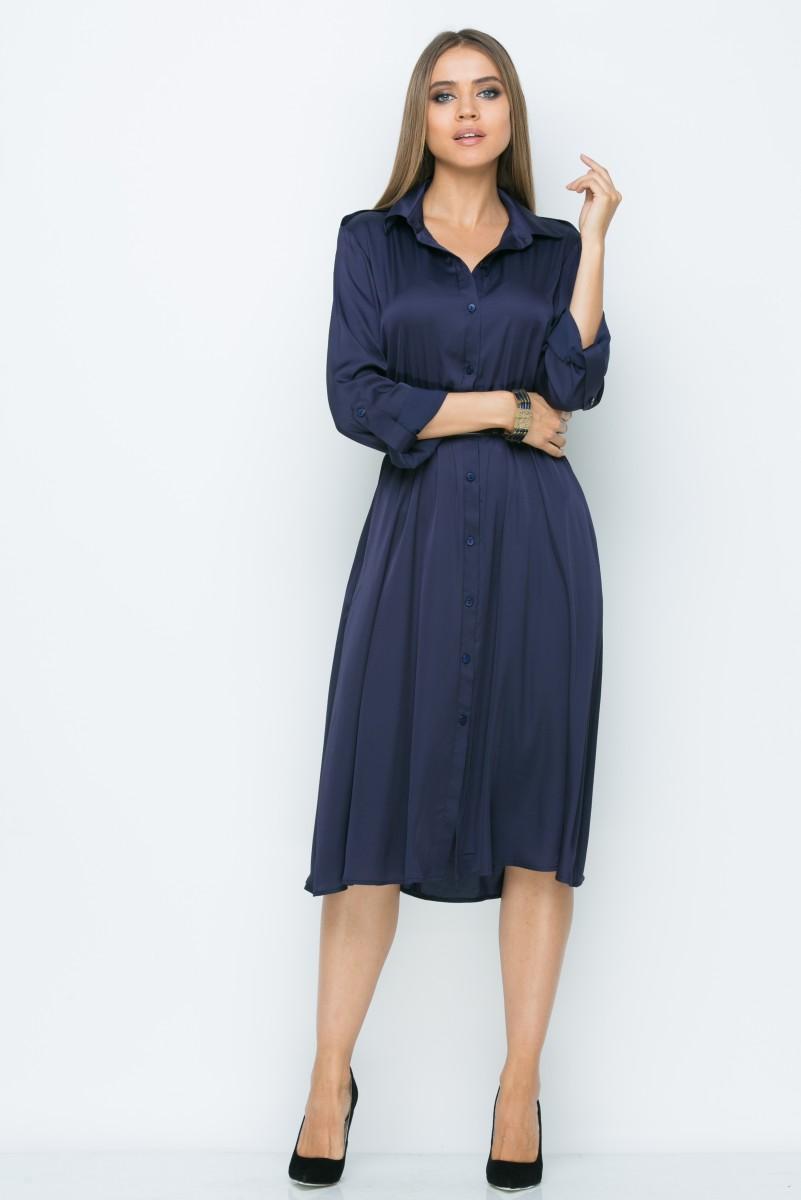 Платье V141 цвет синий