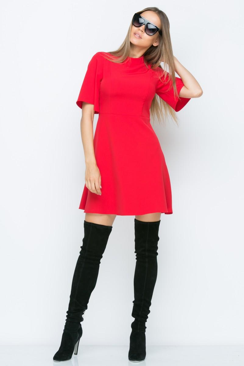 Платье A153 цвет красный