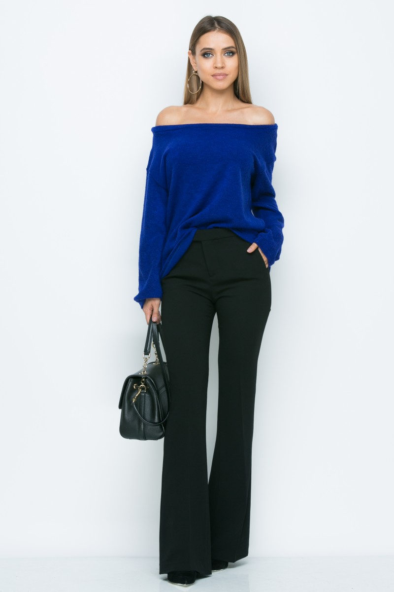Джемпер A163 цвет синий
