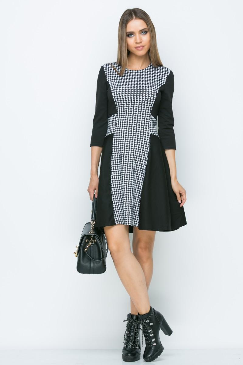 Платье A156 цвет черный