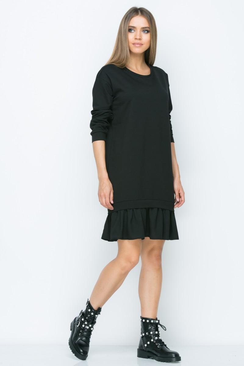 Платье A154 цвет черный