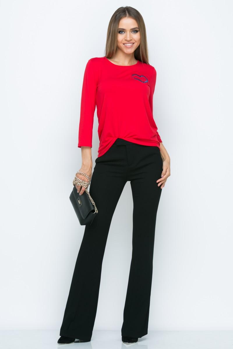 Блузка L148 цвет красный